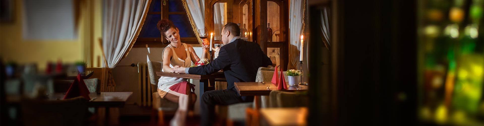 Restaurace hotelu Maxmilián