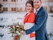 Obřad Zimní svatební jiskření 10