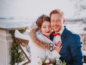 Obřad Zimní svatební jiskření 11