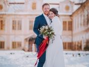 Obřad Zimní svatební jiskření 6