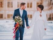 Obřad Zimní svatební jiskření 7