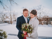 Obřad Zimní svatební jiskření 9