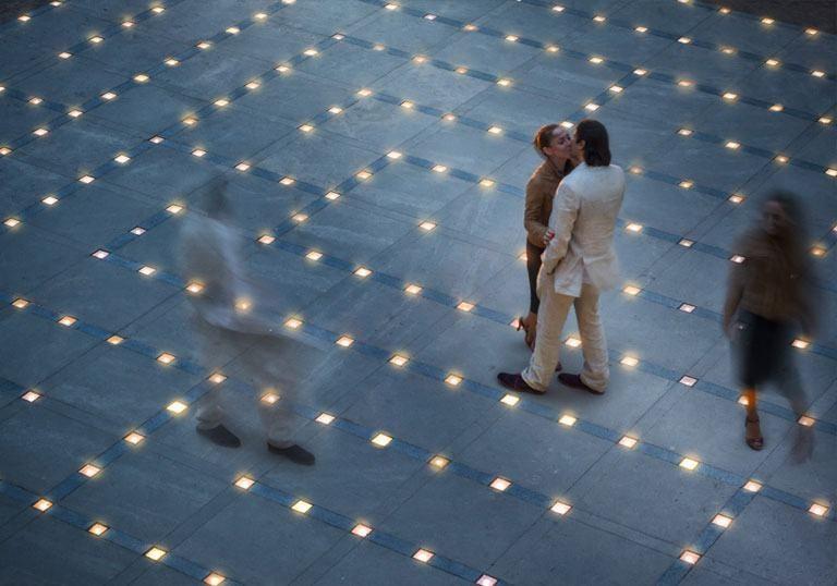 2. Světelný labyrint
