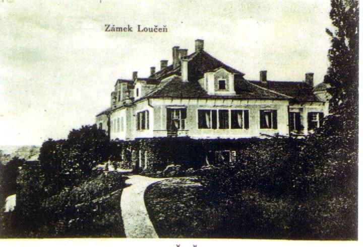 Zámek - konec 19.století obr.1