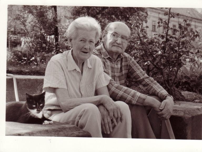 Josefa Dohalská s manželem obr.15