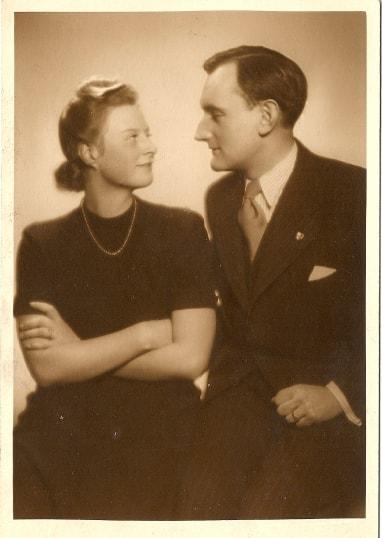 Josefa Dohalská s manželem obr.11