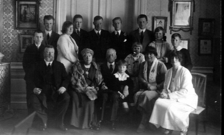 Zlatá svatba knížete Alexandra a kněžny Marie 1925 obr.3