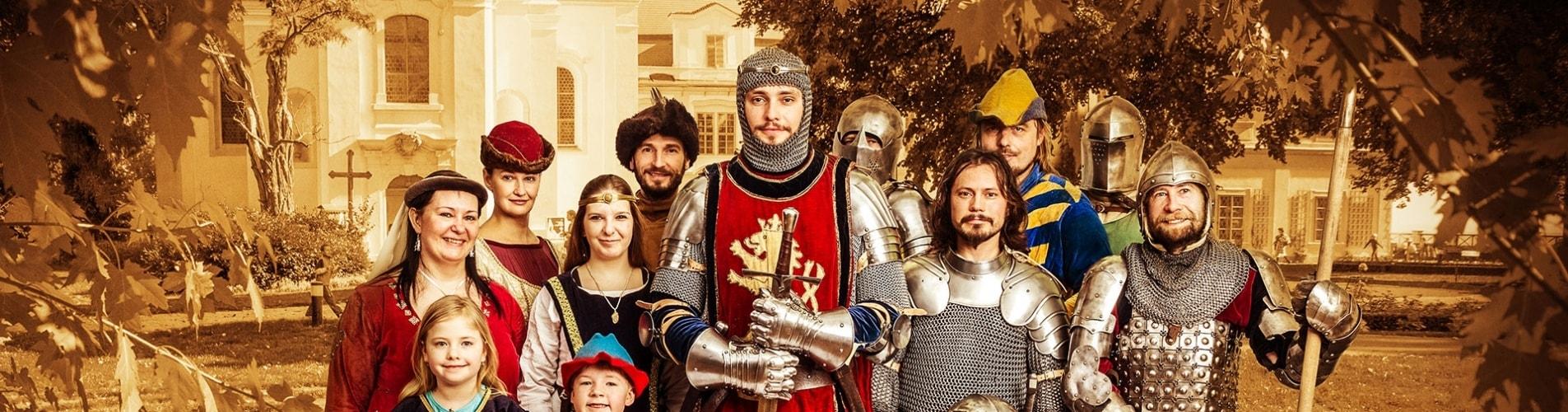 Královské slavnosti na zámku Loučeň