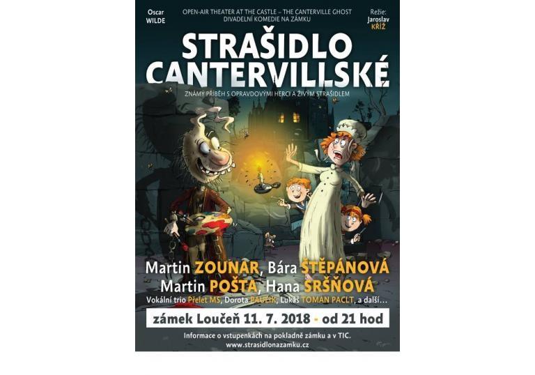 Divadelní open air komedie STRAŠIDLO CANTERVILLSKÉ