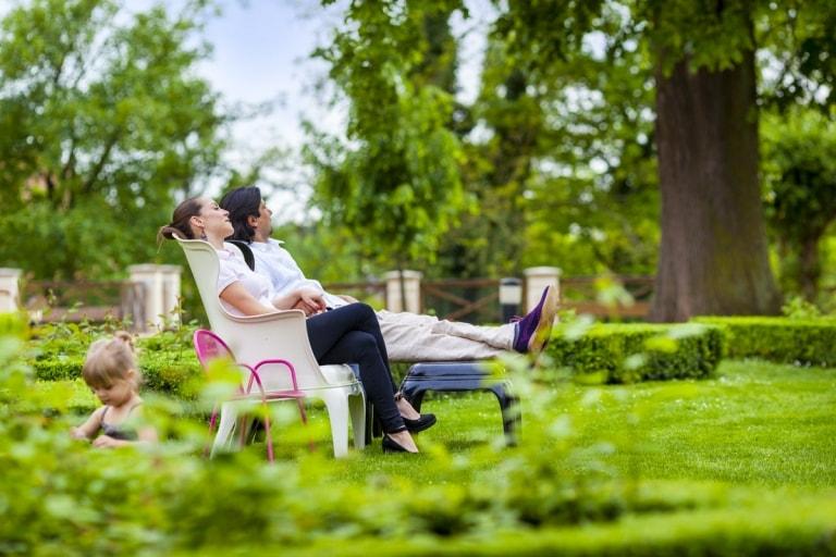 Zámek Loučeň - relax v parku obr.5