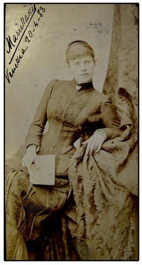 Marie Thurn Taxisová tehdy a dnes obr.3