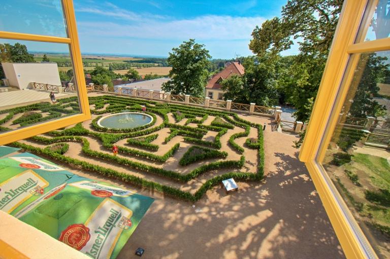 Zámecké labyrintárium se otevíra obr.8