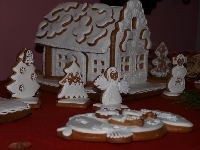 Na zámku vzniklo před Vánocemi perníkové království