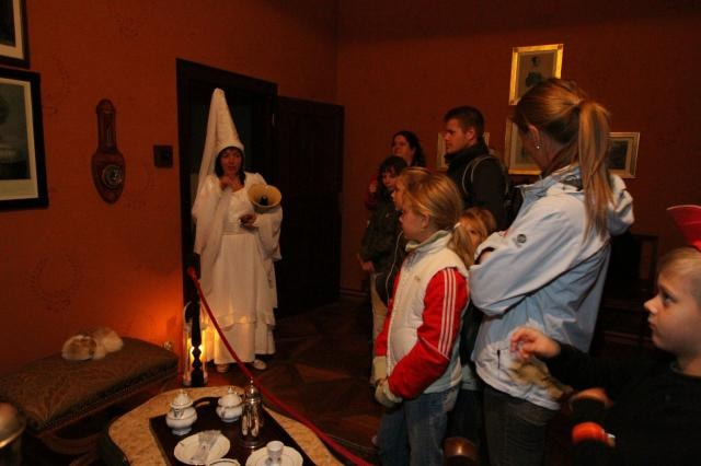 V únoru si na zámku zamlsáte s Bílou paní