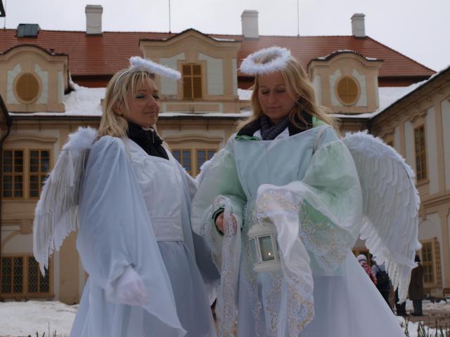 Do adventu vstoupí zámek Loučeň pokusem o rekord