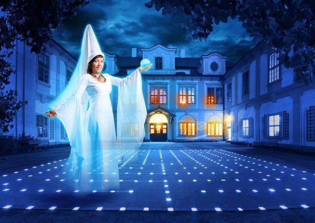 O zimních víkendech Vás Bílá paní vtáhne jako spoluhráče do tajemné hry