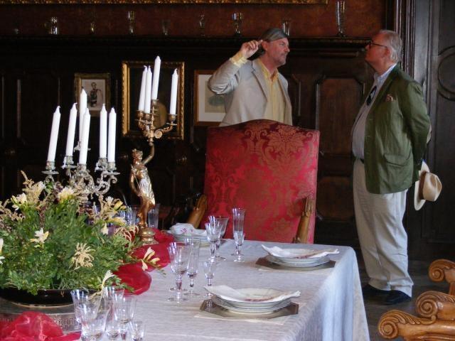 Zámek navštívil pravnuk lidumilného knížete Alexandra Thurn - Taxise
