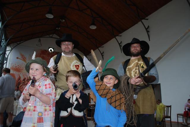 Mezinárodní den dětí oslaví zámek loupežnickou pohádkou