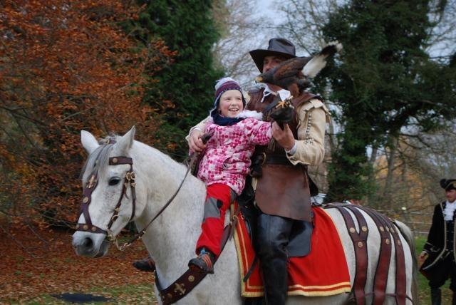 Svatý Martin na bílém koni dorazí na Loučeň již posedmé