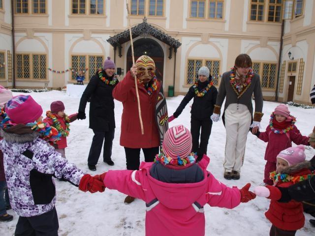 Sezóna zámku vyvrcholí i letos odpoledním Silvestrem pro děti