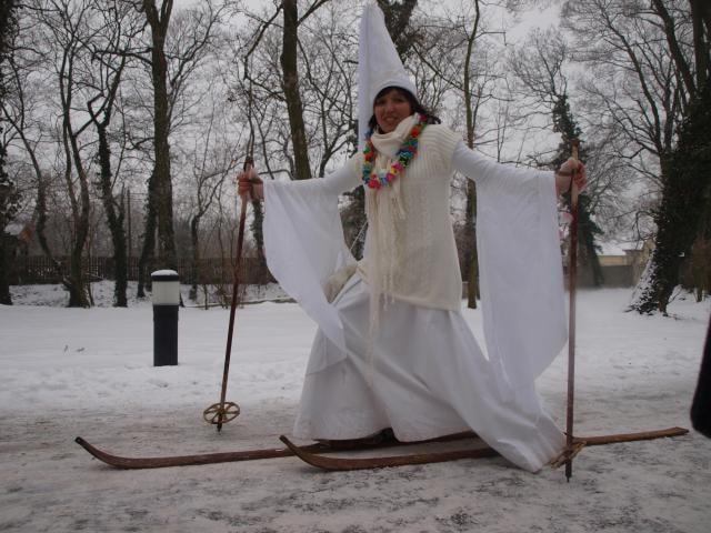 Bílá paní vnese do adventu na zámku v jeho půli trochu veselí