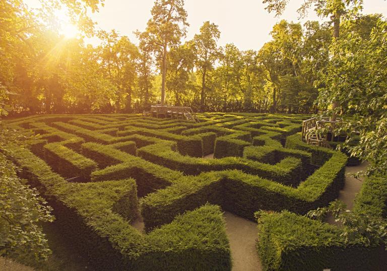 Zámecké labyrinty mají narozeniny