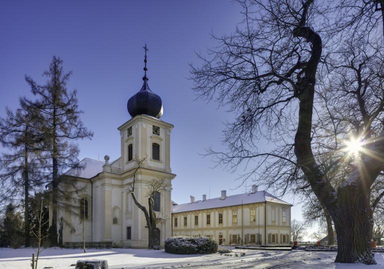 Od 3.12. je zámek otevřený a plný stromečků!