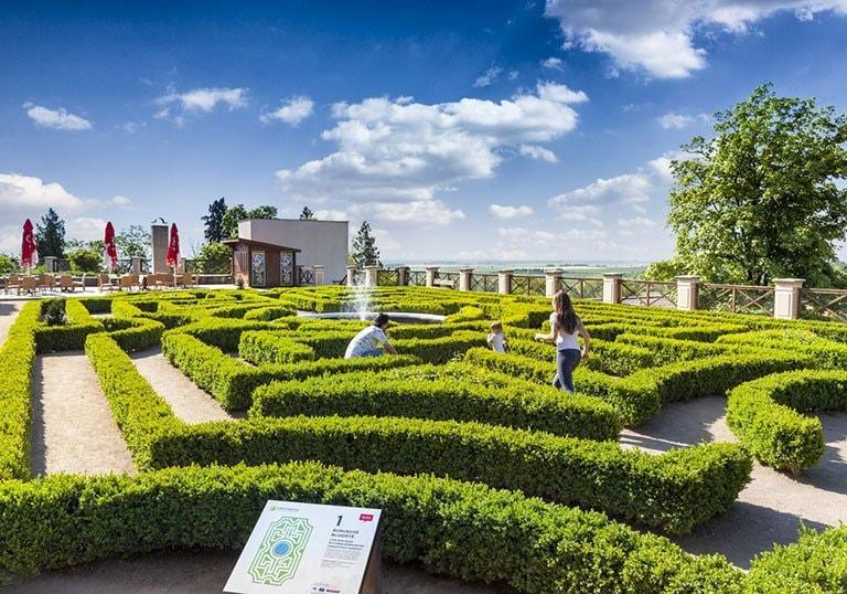 Park s labyrintáriem otevřen denně