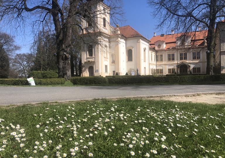 Květen na zámku i v parku patří květinám